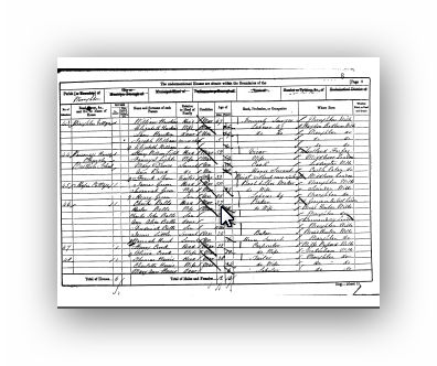 1861 Census of England and Wales - Wroughton Village, Wroughton, Wroughton Wiltshire - Mary Dance